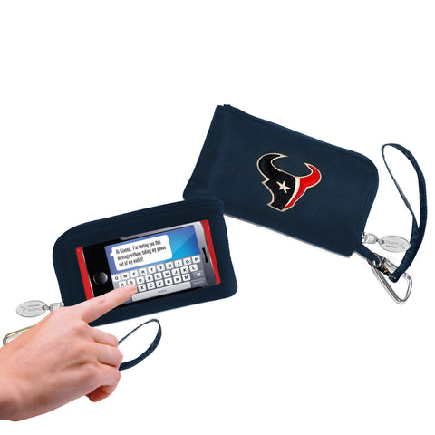 Houston Texans Cell Phone Wallet / Wristlet