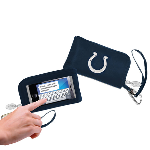 Indianapolis Colts Cell Phone Wallet / Wristlet - Charm14