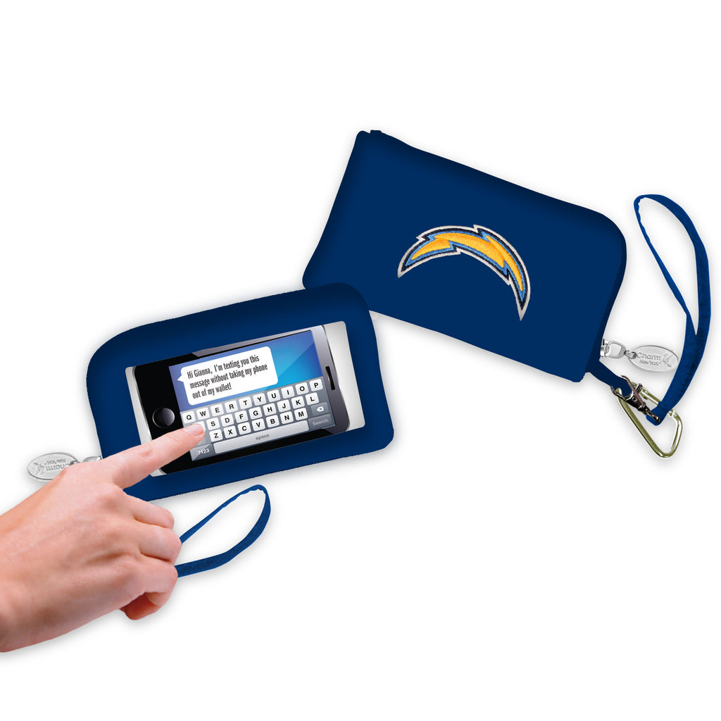 Los Angeles Chargers Cell Phone Wallet / Wristlet - Charm14