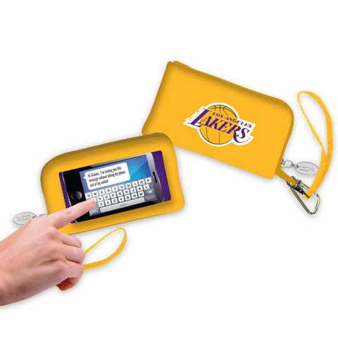 Los Angeles Lakers Cell Phone Wallet / Wristlet - Charm14