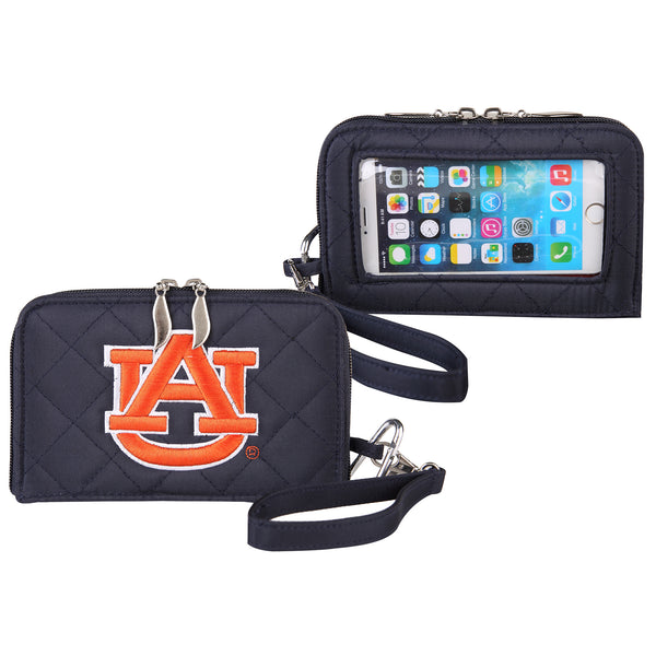 NCAA Cell Phone Wallet Quilt-Stadium Entry Size - Charm14