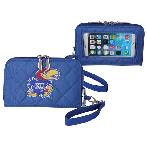 Kansas Jayhawks Smart Wallet Q - Charm14