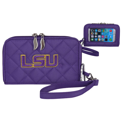 NCAA LSU Tigers Smart Wallet Q - Charm14