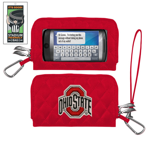 Ohio State Buckeyes Smart Wallet-Ohio Stadium Entry Size - Charm14