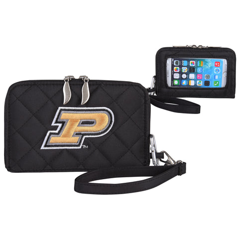 Purdue Boilermakers Smart Wallet Q - Charm14