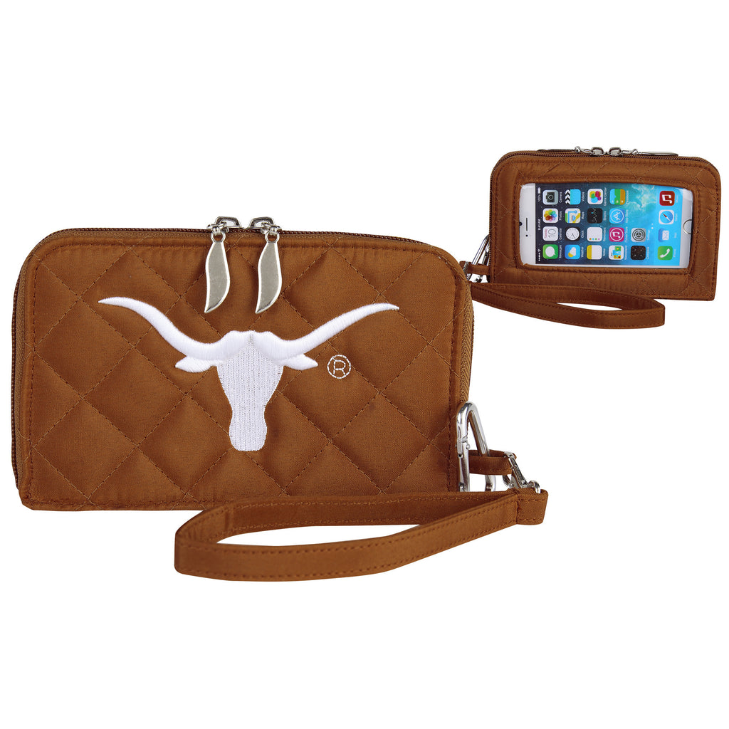 Texas Longhorns Smart Wallet Q - Charm14