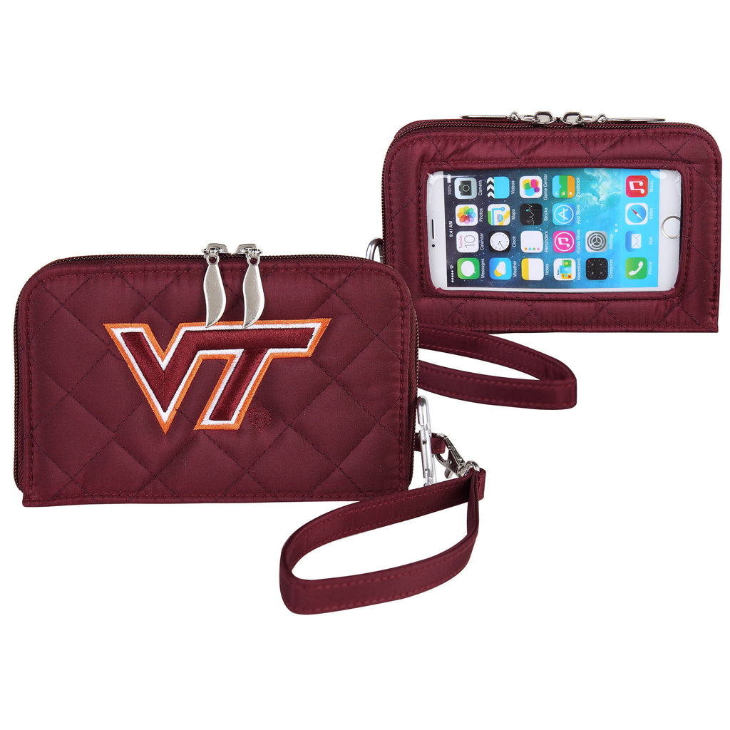 Virginia Tech Hokies Smart Wallet Q - Charm14