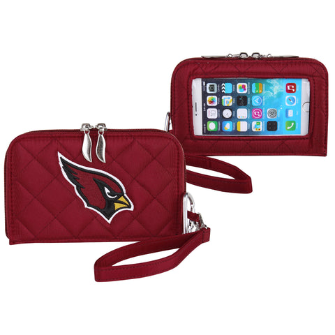 Arizona Cardinals Cell Phone Wallet Quilt - Charm14