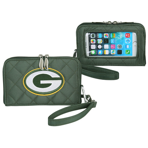 Green Bay Packers Smart Wallet Q - Charm14