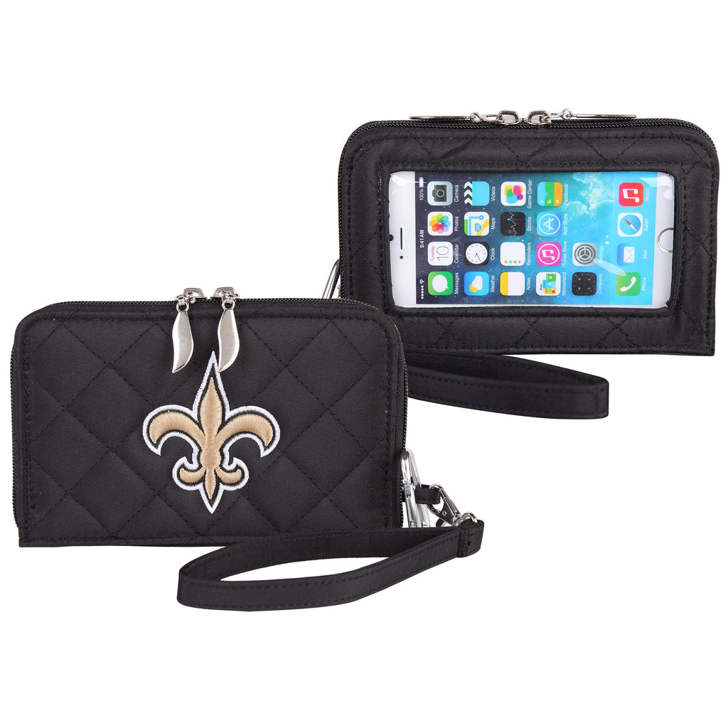 New Orleans Saints Smart Wallet Q - Charm14