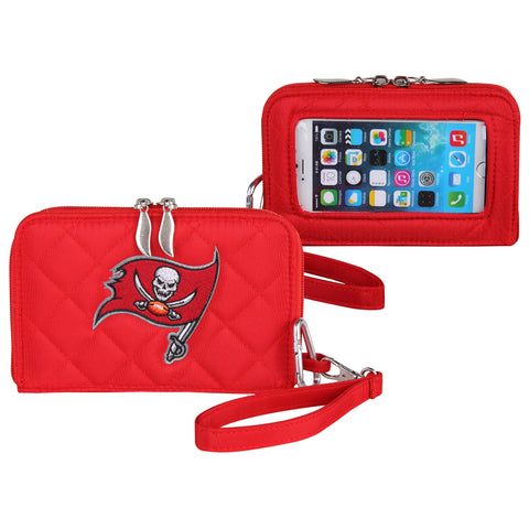 Tampa Bay Buccaneers Smart Wallet Q - Charm14