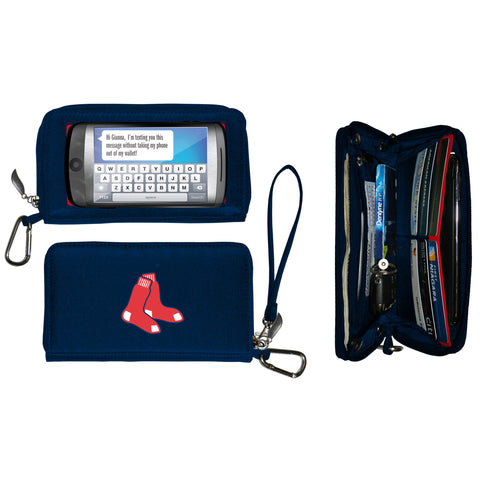 Boston Red Sox Deluxe Smartphone Wallet - Charm14