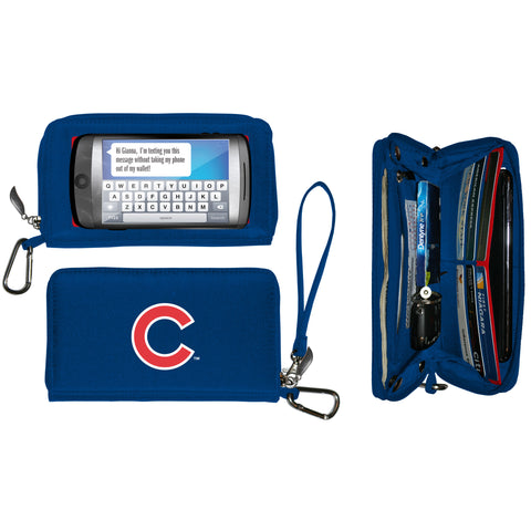 Chicago Cubs cell phone wallet