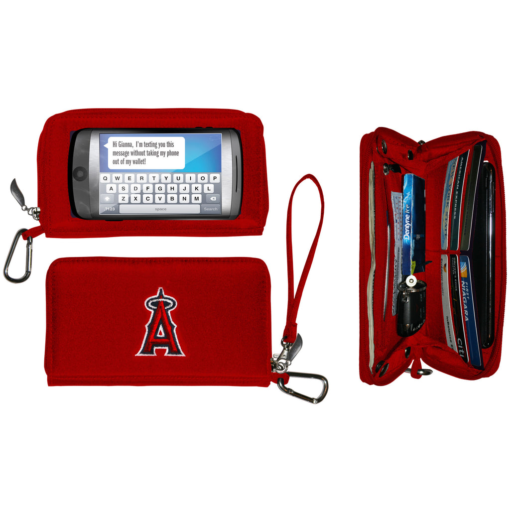 Los Angeles Angels Deluxe Smartphone Wallet - Charm14