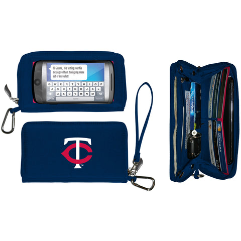 Minnesota Twins cell phone wallet