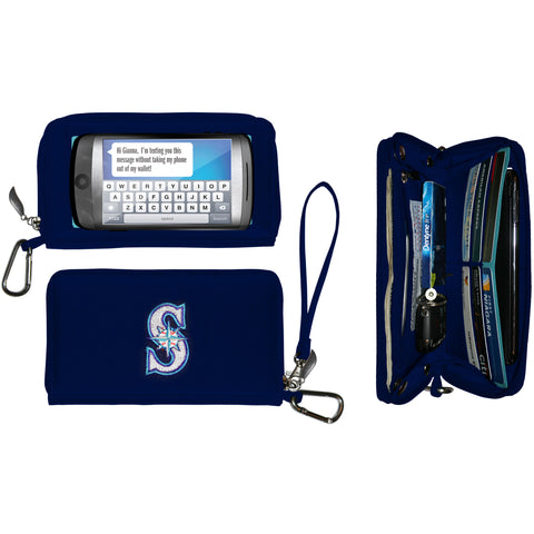 Seattle Mariners Deluxe Smartphone Wallet - Charm14