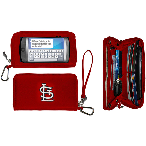 MLB Deluxe Smartphone Wallet-Stadium Ready Size - Charm14