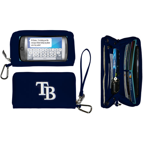 Tampa Bay Rays Deluxe Smartphone Wallet - Charm14