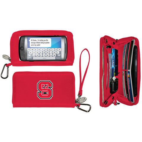 NCAA North Carolina State Wolfpack Deluxe Smartphone Wallet - Charm14
