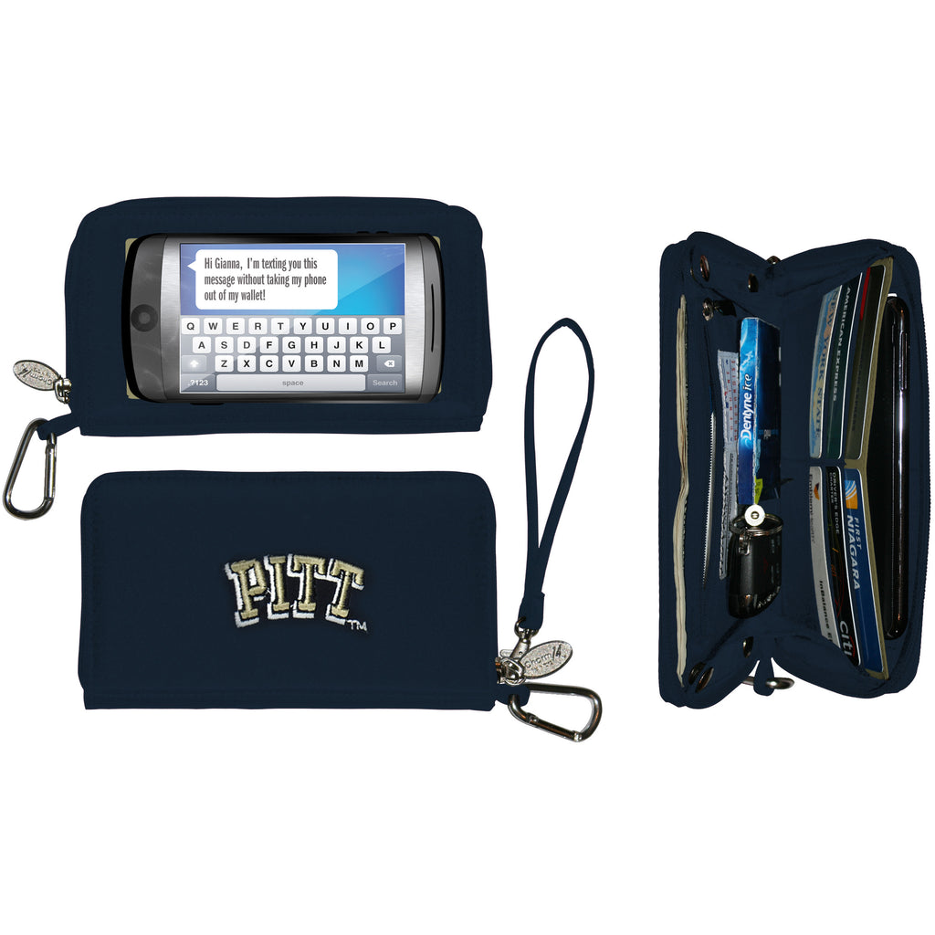 NCAA Pittsburgh Panthers Deluxe Smartphone Wallet - Charm14
