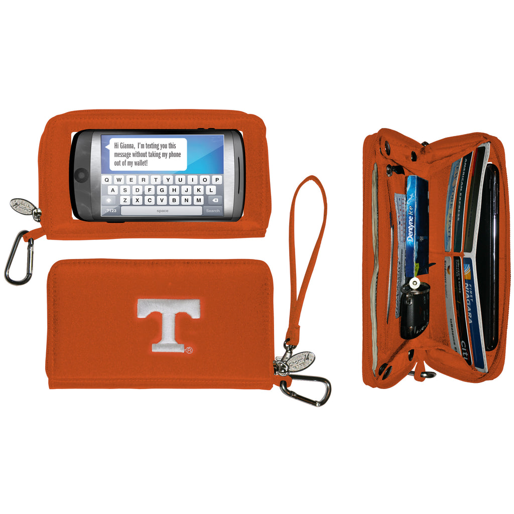 Tennessee Volunteers Deluxe Texting Wallet - Charm14