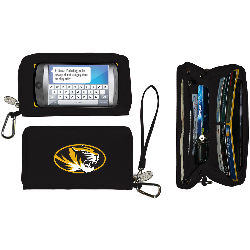Missouri Tigers Cell Phone Wallet