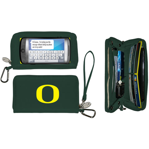Oregon Ducks Cell Phone Wallet