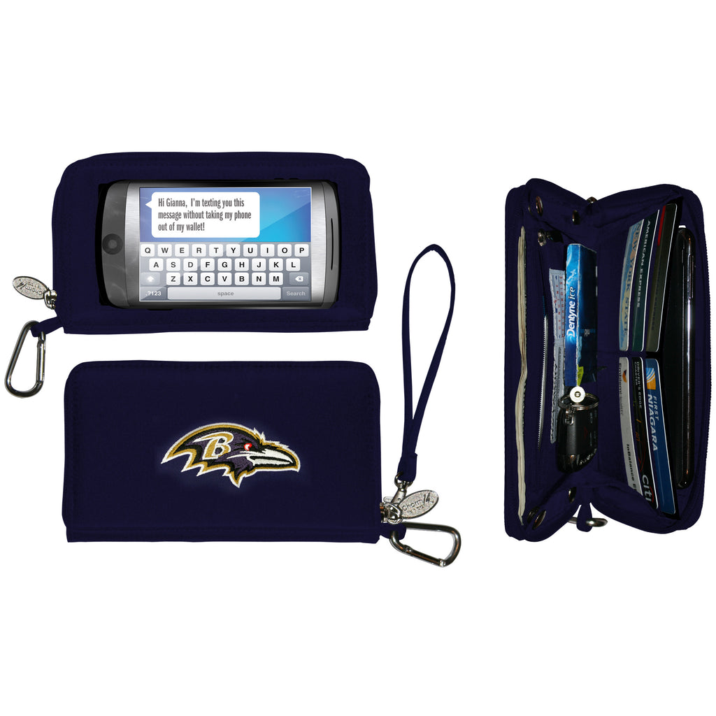 Baltimore Ravens Cell Phone Wallet