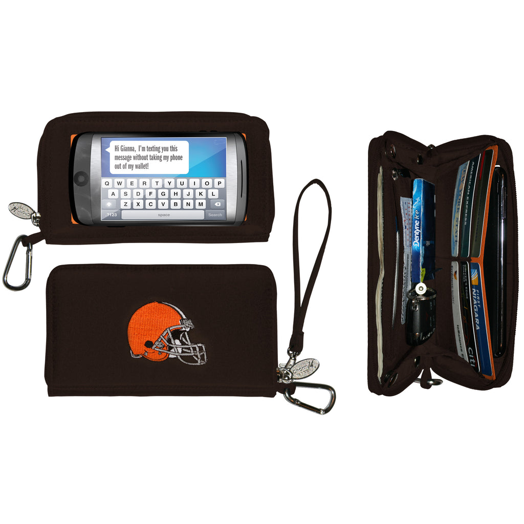Cleveland Browns Cell Phone Wallet