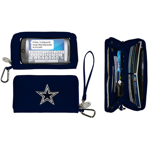 Dallas Cowboys Deluxe Smartphone Wallet - Charm14