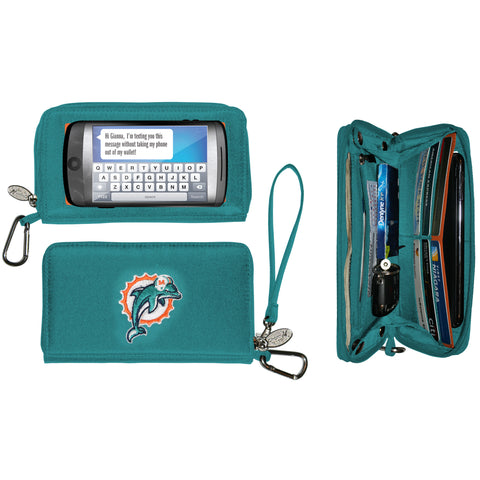 Miami Dolphins Cell Phone Wallet