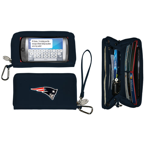 New England Patriots Deluxe Smartphone Wallet - Charm14