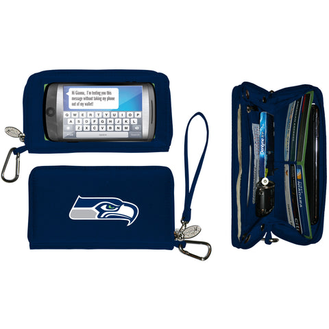 Seattle Seahawks Cell Phone Wallet