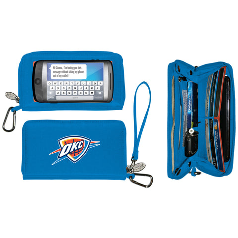 Oklahoma City Thunder Cell Phone Wallet