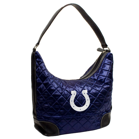 Indianapolis Colts Quilted Hobo - Charm14