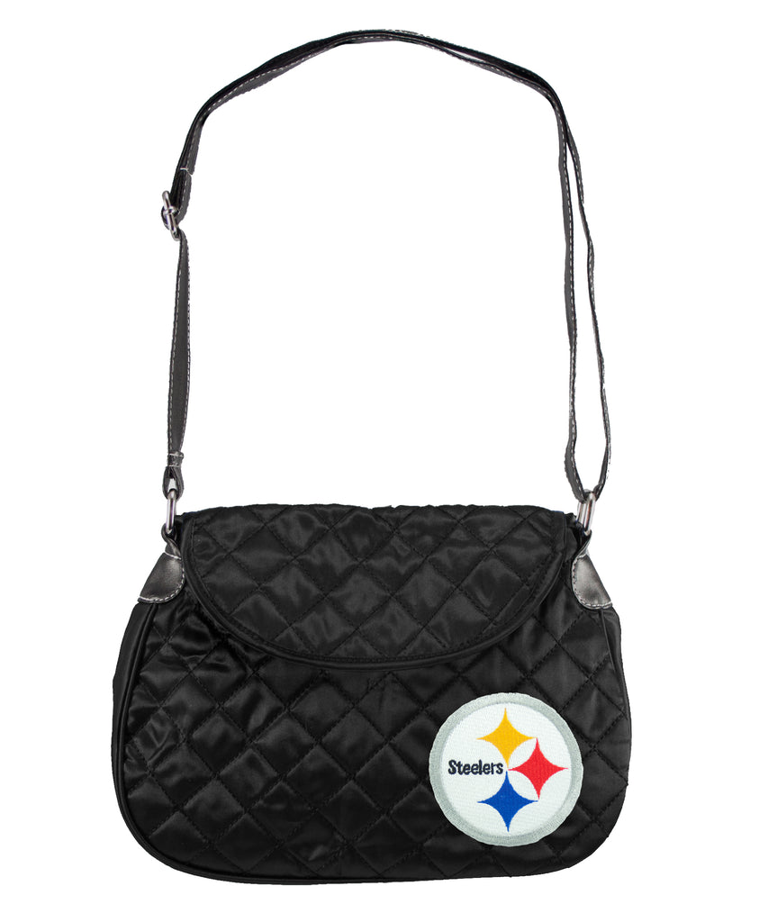 Pittsburgh Steelers Quilted Saddlebag - Charm14