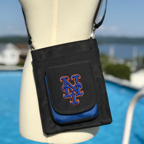 New York Mets Traveler / Crossbody - Charm14