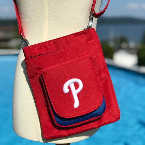 Philadelphia Phillies Traveler / Crossbody - Charm14