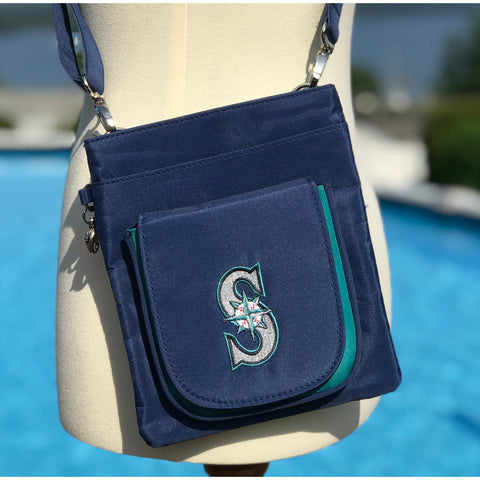 Seattle Mariners Traveler / Crossbody - Charm14