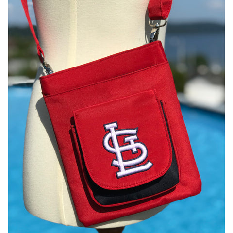 St. Louis Cardinals Traveler / Crossbody - Charm14