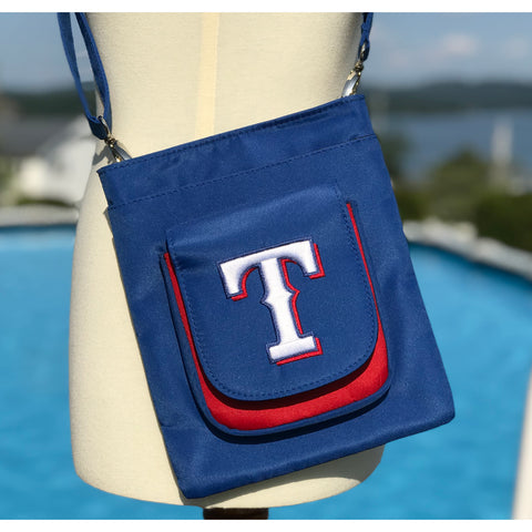 Texas Rangers Traveler / Crossbody - Charm14