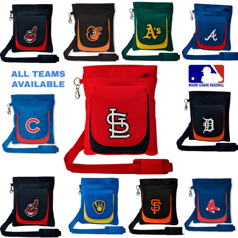 MLB Traveler / Crossbody-Embroidered Logo - Charm14