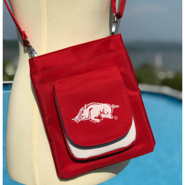 Arkansas Razorbacks Traveler / Crossbody - Charm14