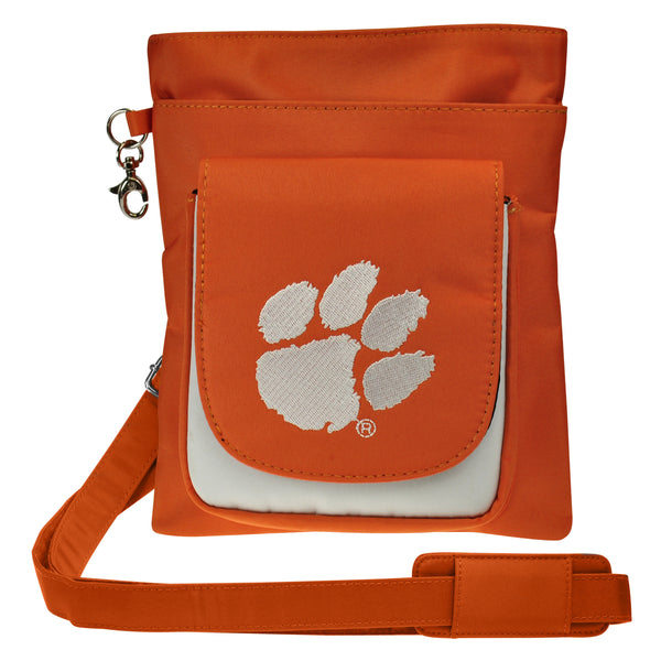Clemson Tigers Traveler / Crossbody - Charm14