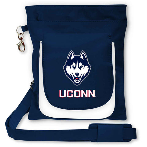 UConn Huskies Traveler / Crossbody - Charm14