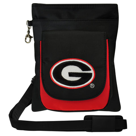 Georgia Bulldogs Traveler / Crossbody - Charm14