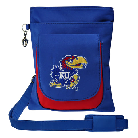 Kansas Jayhawks Traveler / Crossbody - Charm14