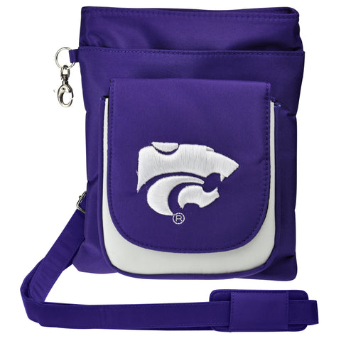 Kansas State Wildcats Traveler / Crossbody - Charm14