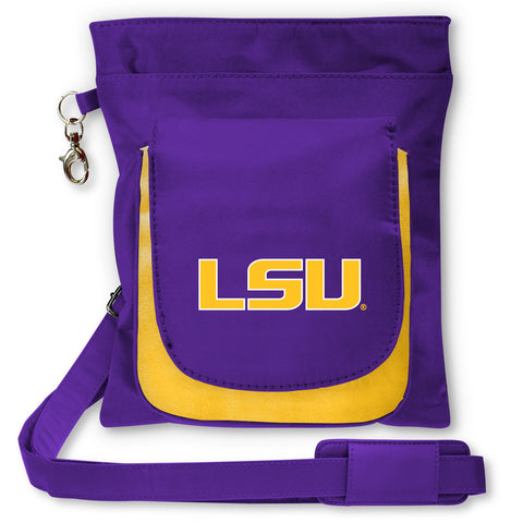 NCAA LSU Tigers Traveler / Crossbody - Charm14