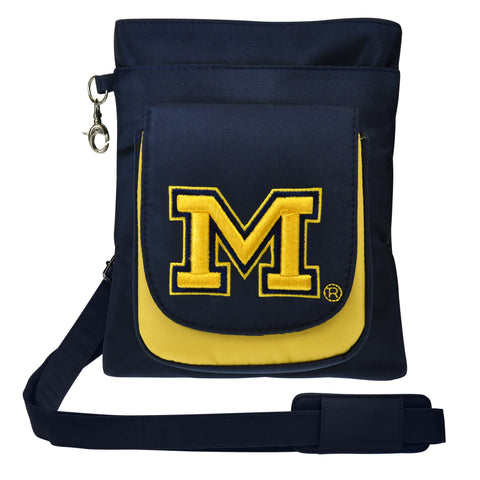 Michigan Wolverines Traveler / Crossbody - Charm14